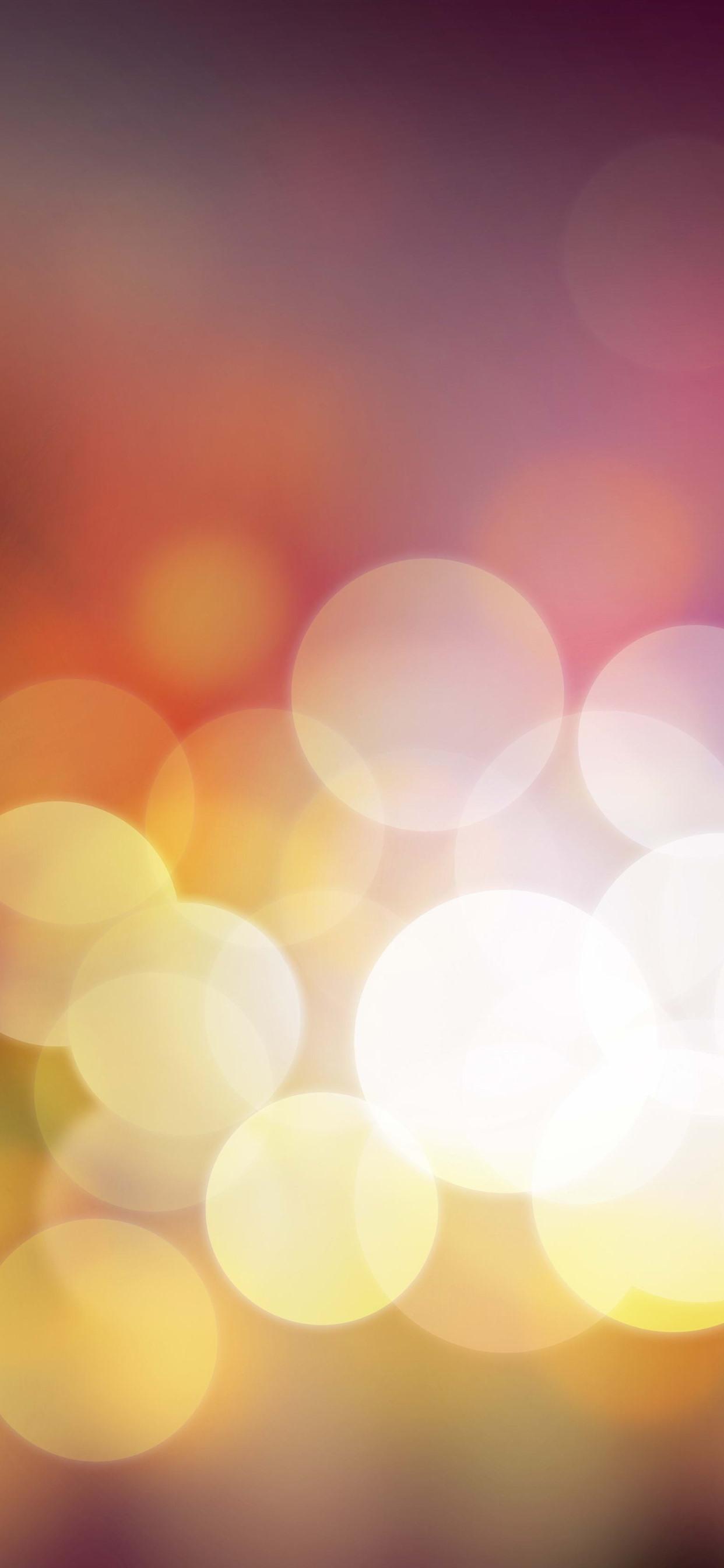 暖かい光の輪 明るい 1242x2688 Iphone 11 Pro Xs Max 壁紙 背景 画像