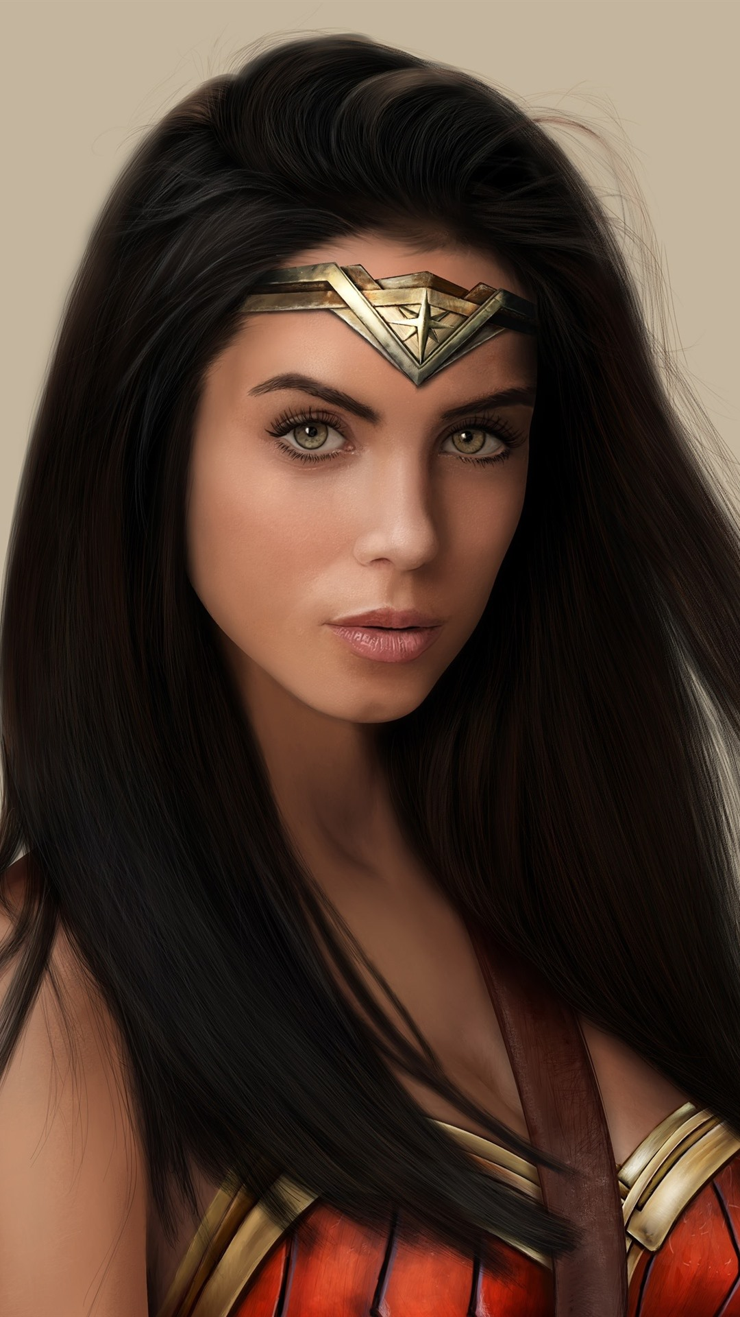 Wonder Woman Superhero Long Hair 1080x1920 Iphone 8 7 6 6s Plus Wallpaper Background Picture Image