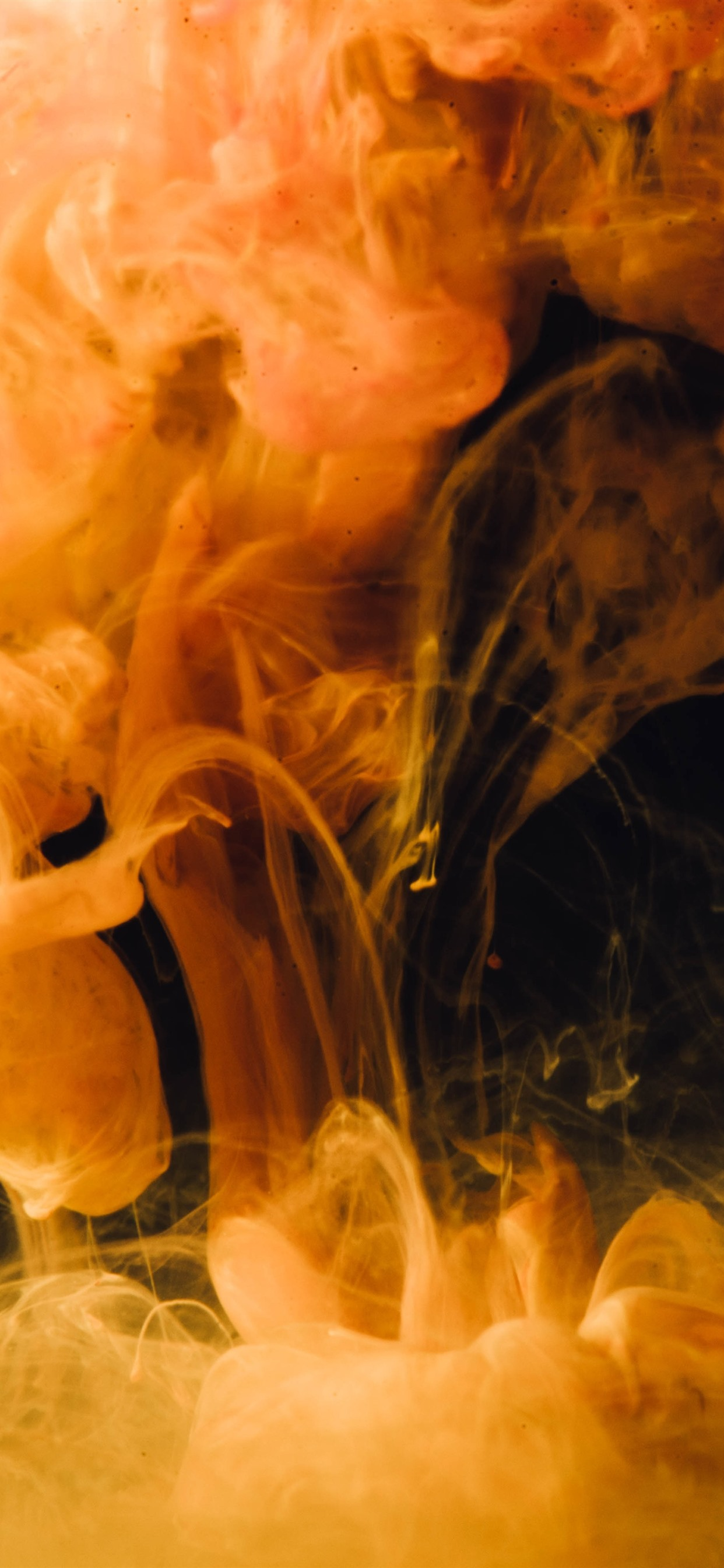 Yellow Smoke Abstract 1242x2688 Iphone 11 Pro Xs Max Wallpaper Background Picture Image