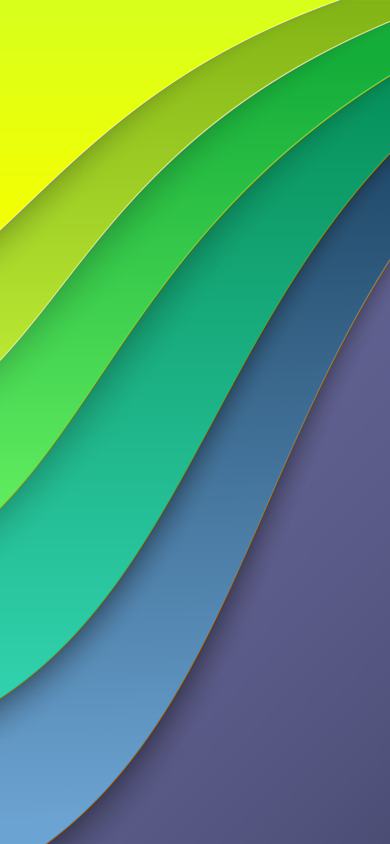 Abstract Curves Layers Green Yellow 1242x2688 Iphone 11 Pro Xs Max Wallpaper Background Picture Image