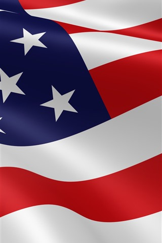 iPhone Wallpaper American flag