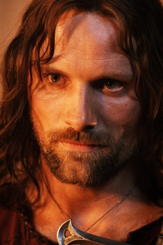 iPhone Wallpaper Aragorn, Lord of the Rings