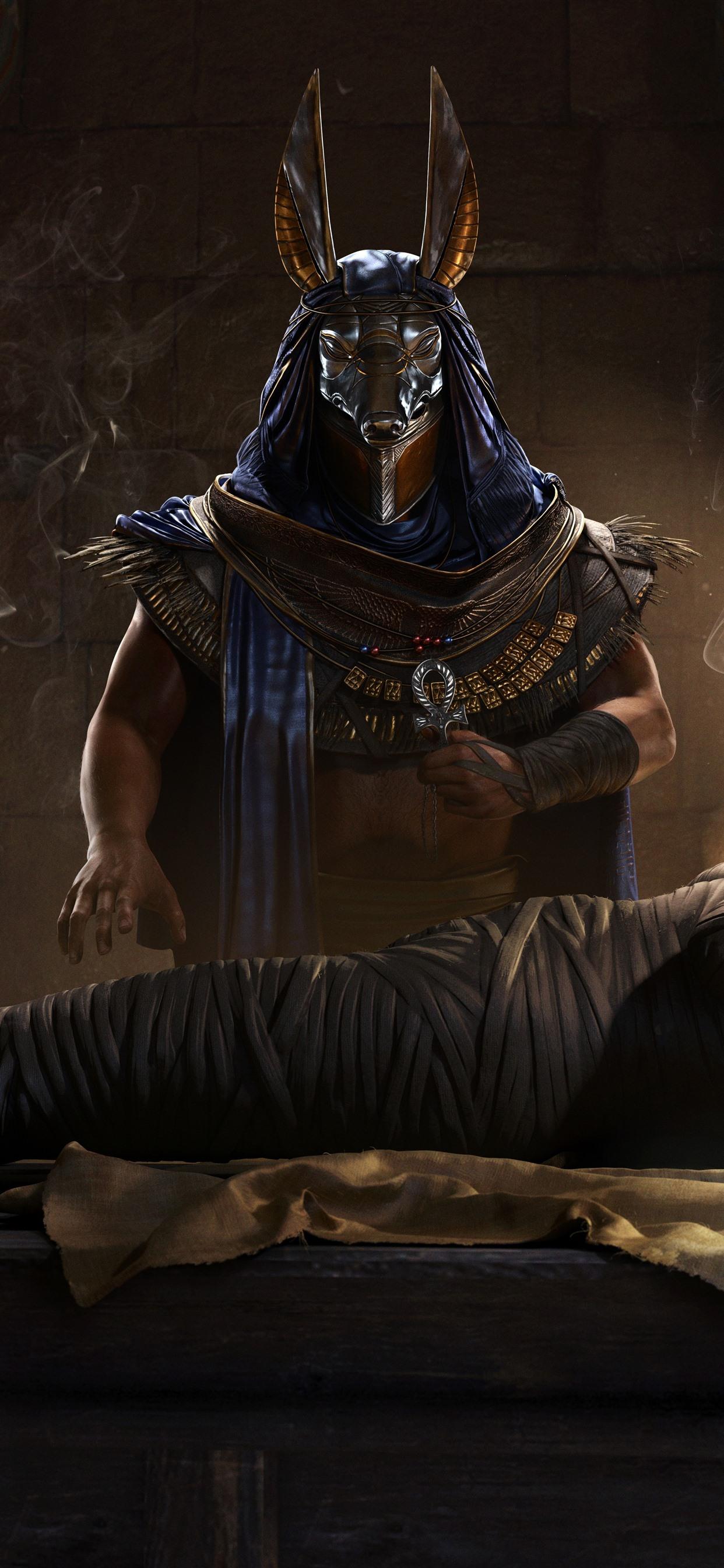 Assassin S Creed Origins Egypt Pharaoh Mummy 1242x2688 Iphone