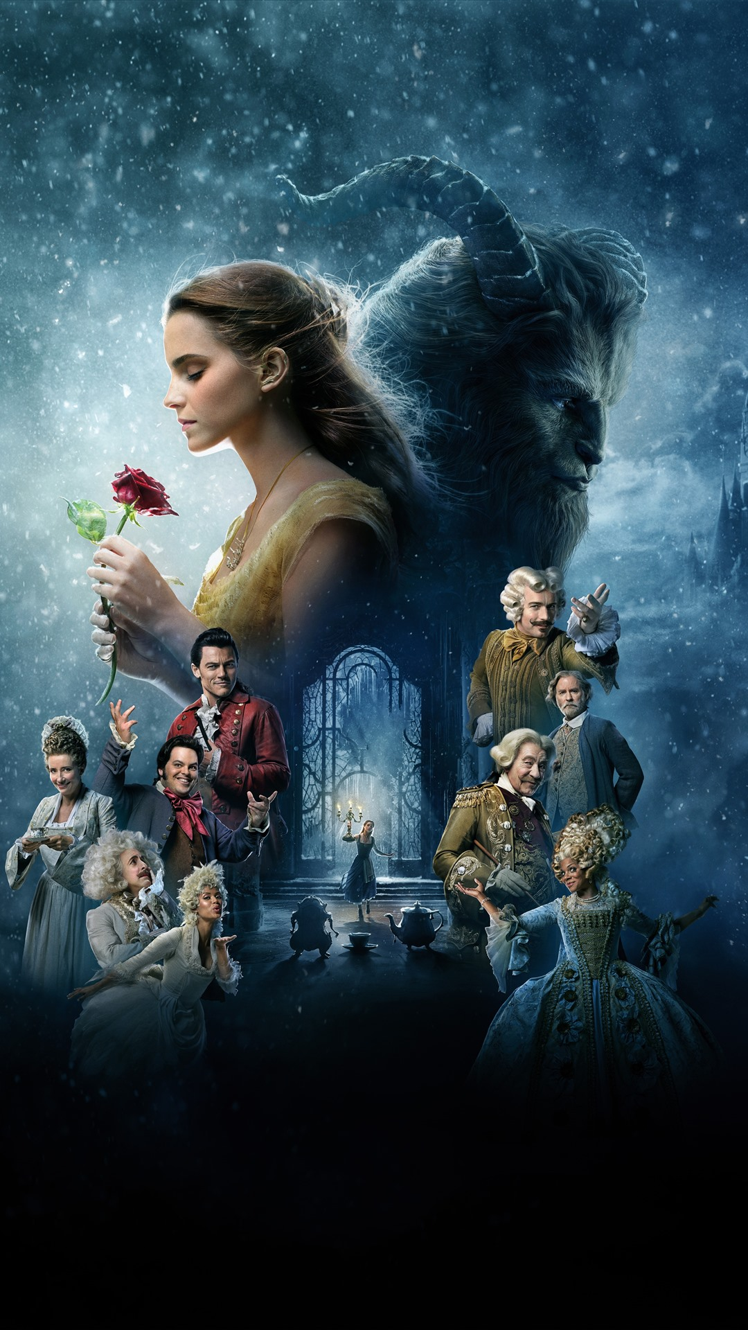 Disney Movie Beauty And The Beast 1242x2688 Iphone 11 Pro Xs Max