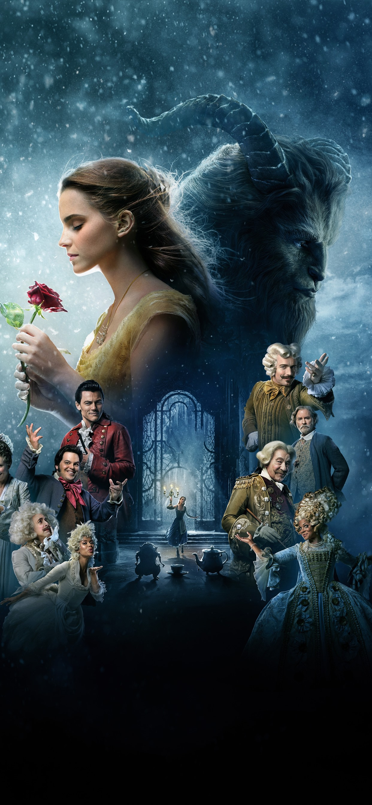 Disney Movie Beauty And The Beast 1242x2688 Iphone Xs Max