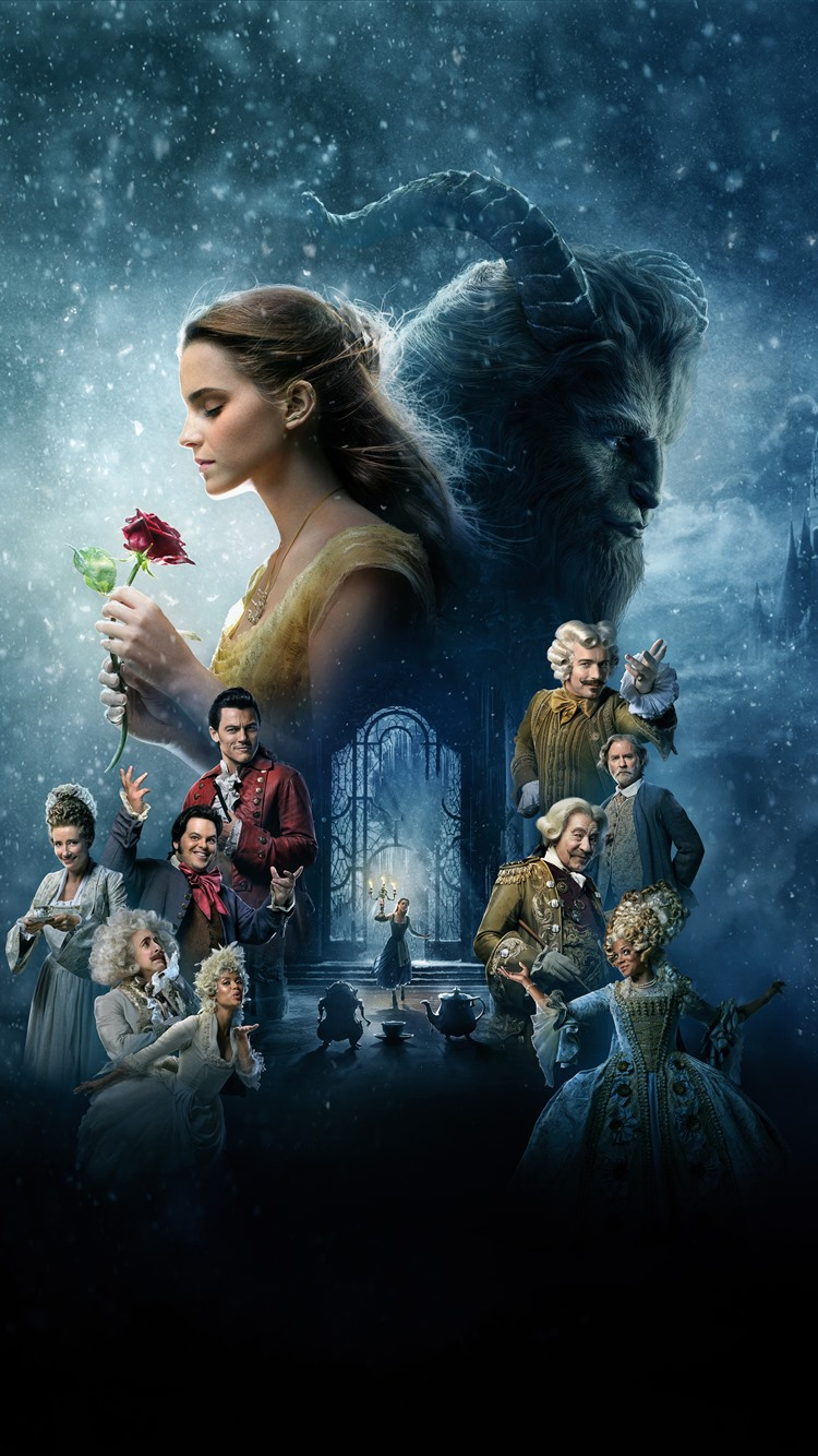 Disney Movie Beauty And The Beast 1242x2688 Iphone 11 Pro Xs Max Wallpaper Background Picture Image