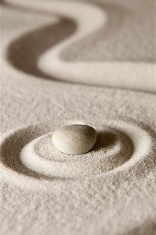 iPhone Wallpaper Sands, stone, still life