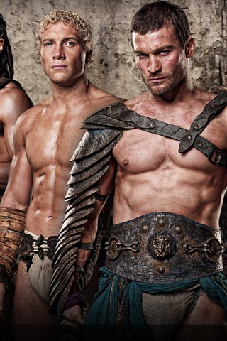 iPhone Wallpaper Spartacus: Blood and Sand, TV series