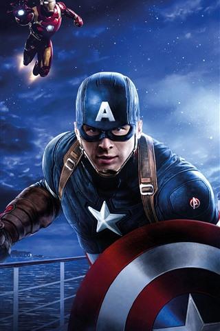 iPhone Wallpaper Avengers: Endgame, 2019 movie