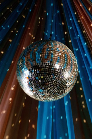 iPhone Wallpaper Disco ball, shine