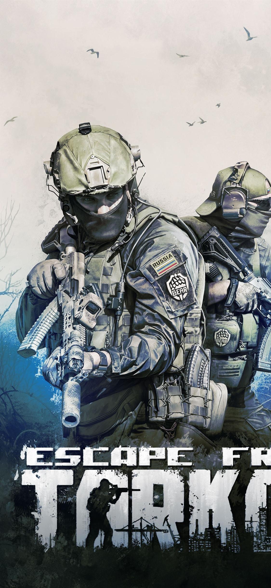 Wallpaper Escape From Tarkov Video Game 3840x2160 Uhd 4k Picture
