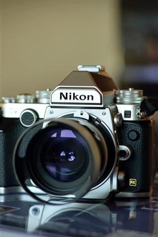 iPhone Wallpaper Nikon digital camera