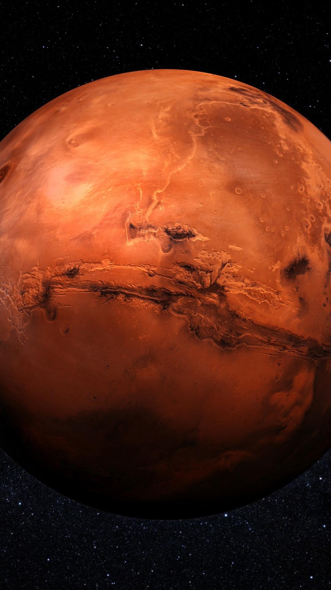 Orange planet starry space 1080x1920 iphone 8 7 6 6s - Orange space wallpaper ...