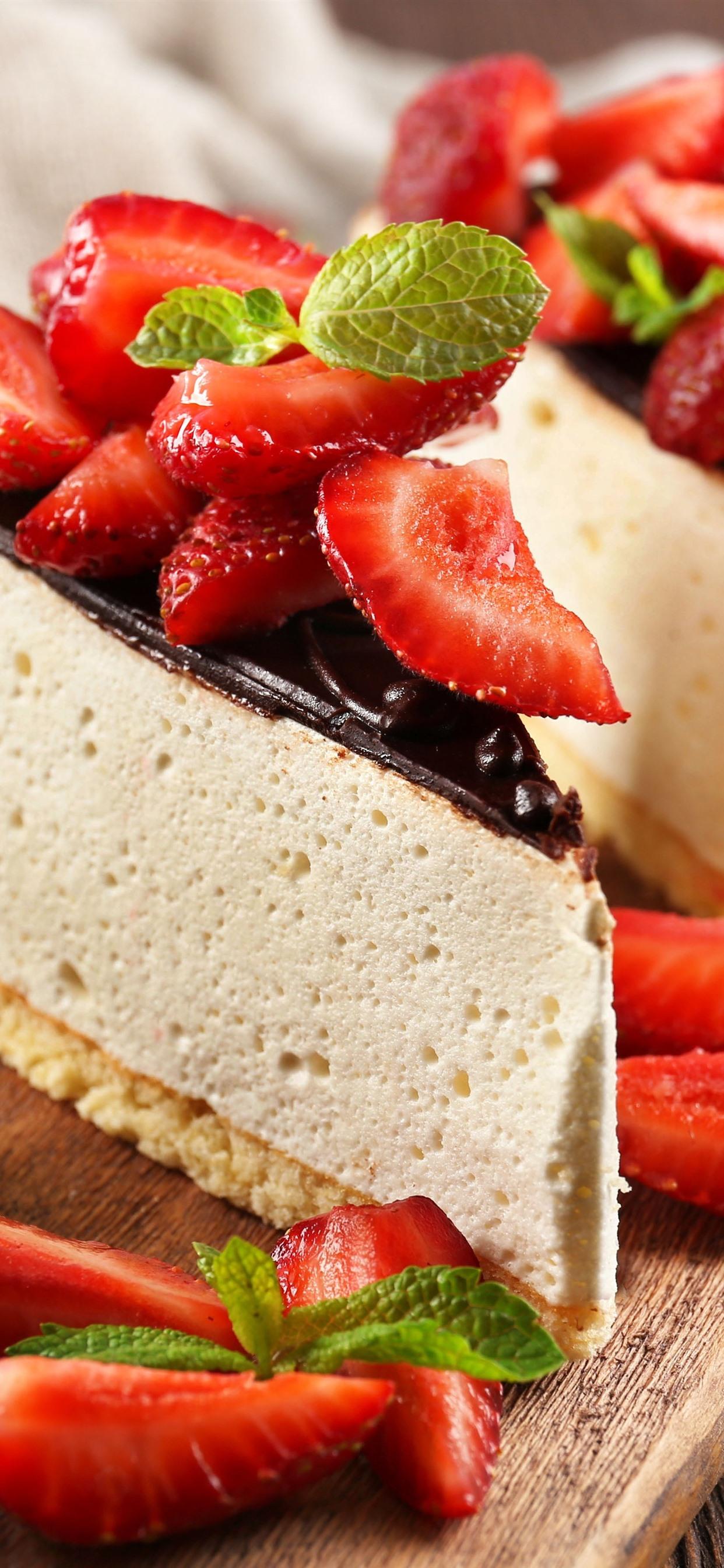 壁紙 チーズケーキ チョコレート イチゴのいくつかの作品 51x Uhd 5k 無料のデスクトップの背景 画像