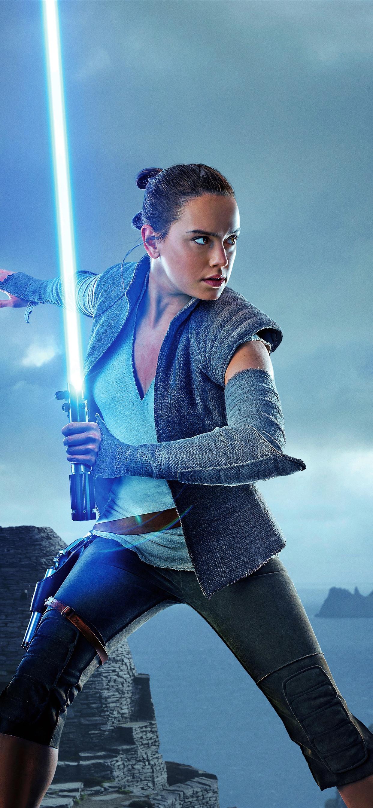 Star Wars The Last Jedi girl laser