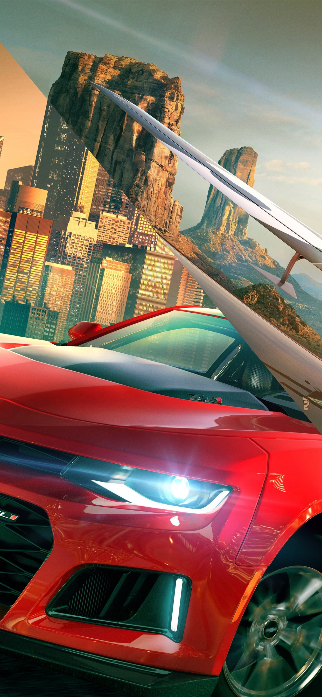 The Crew 2, Ubisoft game 1242x2688 iPhone XS Max wallpaper