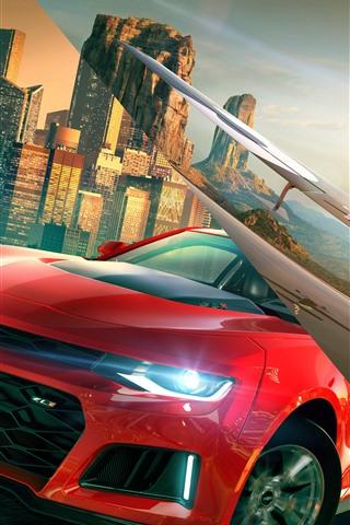 iPhone Papéis de Parede The Crew 2, jogo da Ubisoft