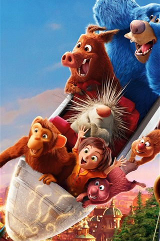 iPhone Wallpaper Wonder Park, cartoon movie 2019
