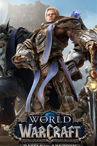 iPhone Wallpaper World of Warcraft: Battle for Azeroth, online games