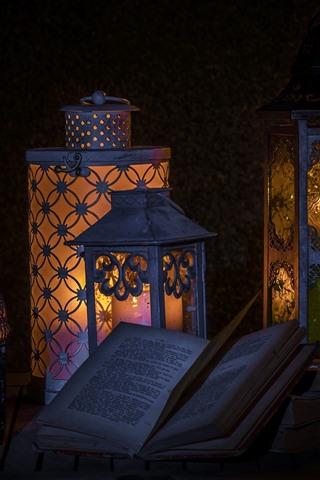 iPhone Wallpaper Book, lamp, darkness, still life
