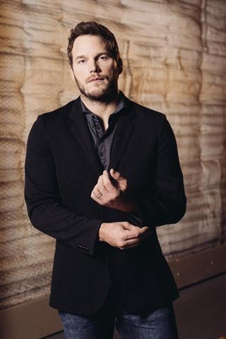 iPhone Wallpaper Chris Pratt, actor