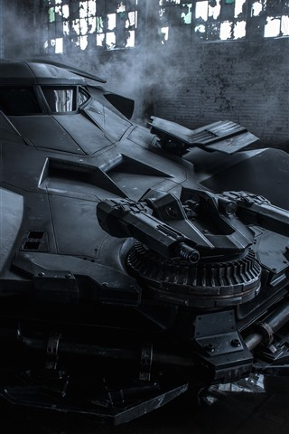 iPhone Wallpaper Cool car, batmobile