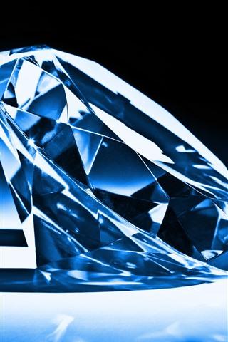 iPhone Wallpaper Diamond, light, shadow