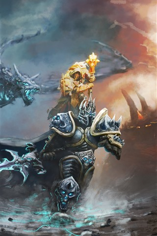 iPhone Wallpaper Heroes of the Storm, Warcraft, game art picture