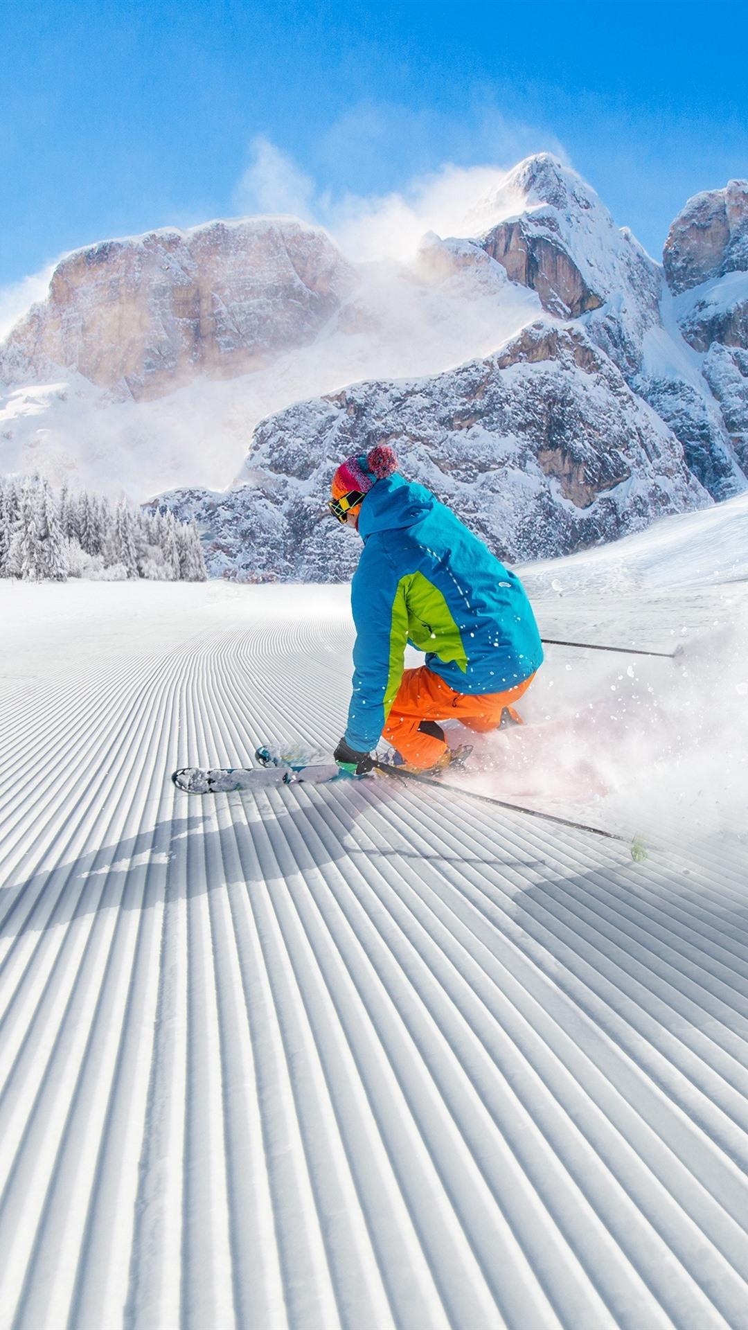 Обои Лыжи. Спорт foto 18