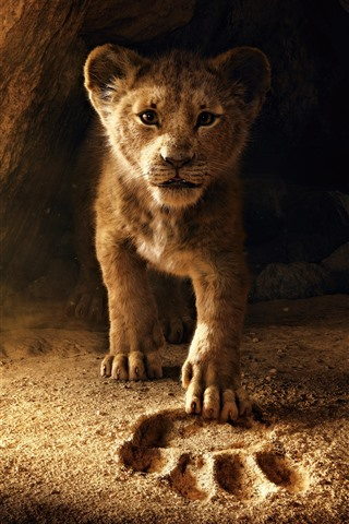 iPhone Wallpaper The Lion King 2, lion cub