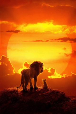 iPhone Wallpaper The Lion King 2