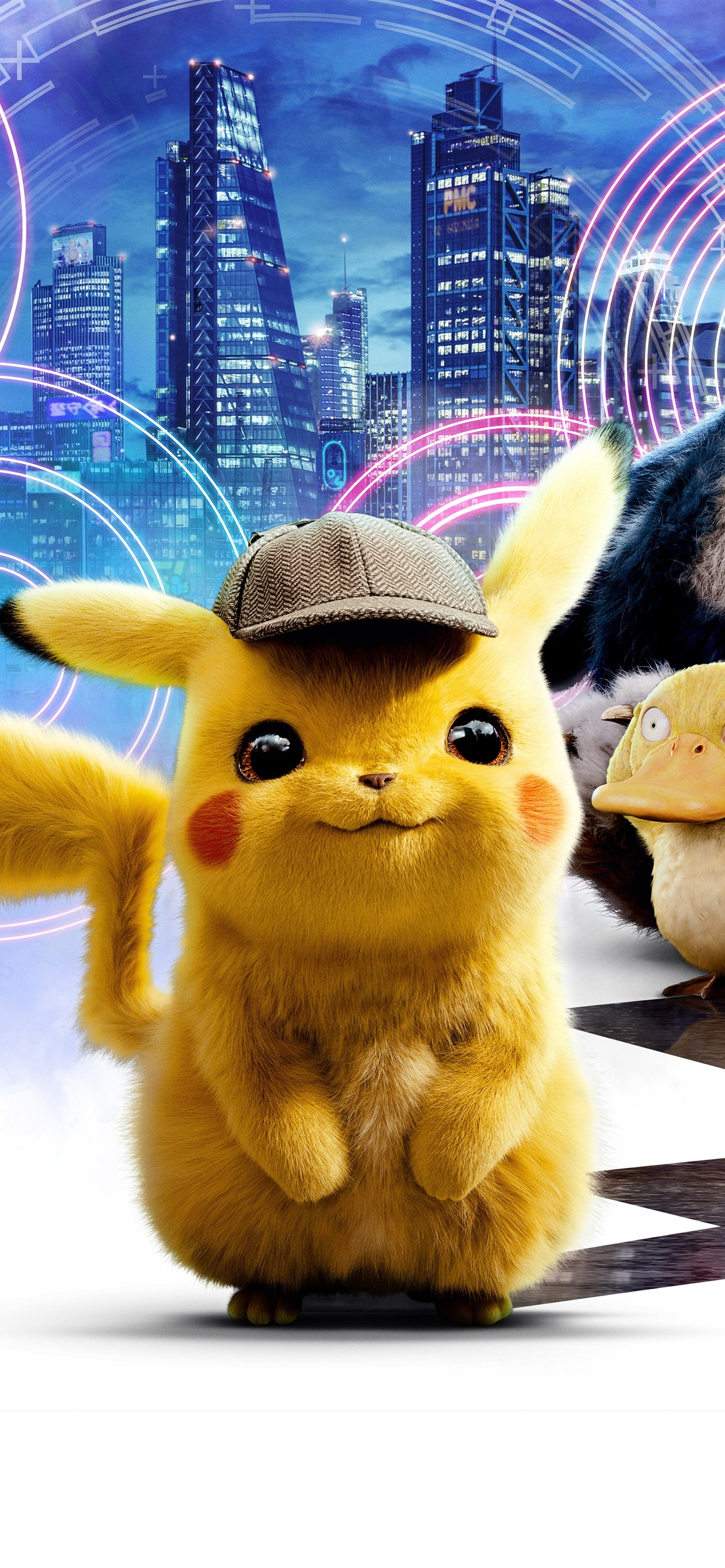 Wallpaper 2019 Movie Pokemon Detective Pikachu 7680x4320