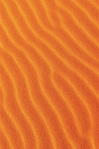 iPhone Wallpaper Desert, sands, curves