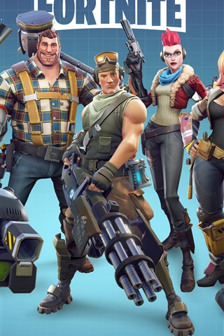 iPhone Wallpaper Fortnite, Xbox game