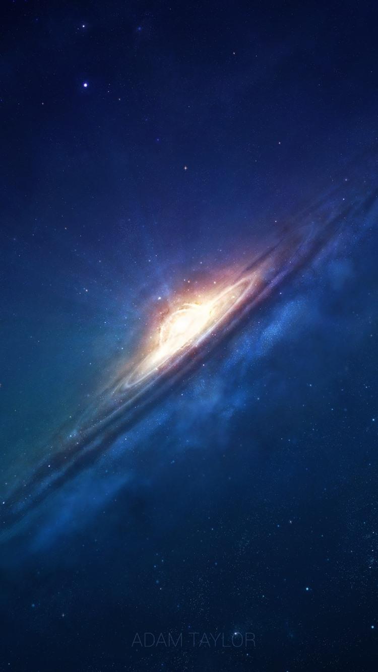 Galaxy Beautiful Space Stars Light 750x1334 Iphone 8 7 6