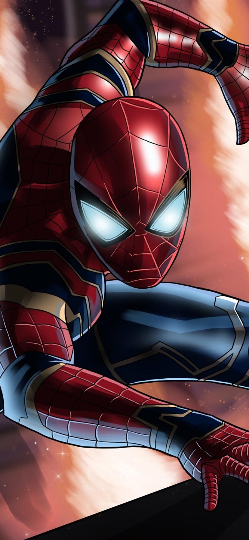 Spider Man Dc Comic Superhero 828x1792 Iphone Xr Wallpaper