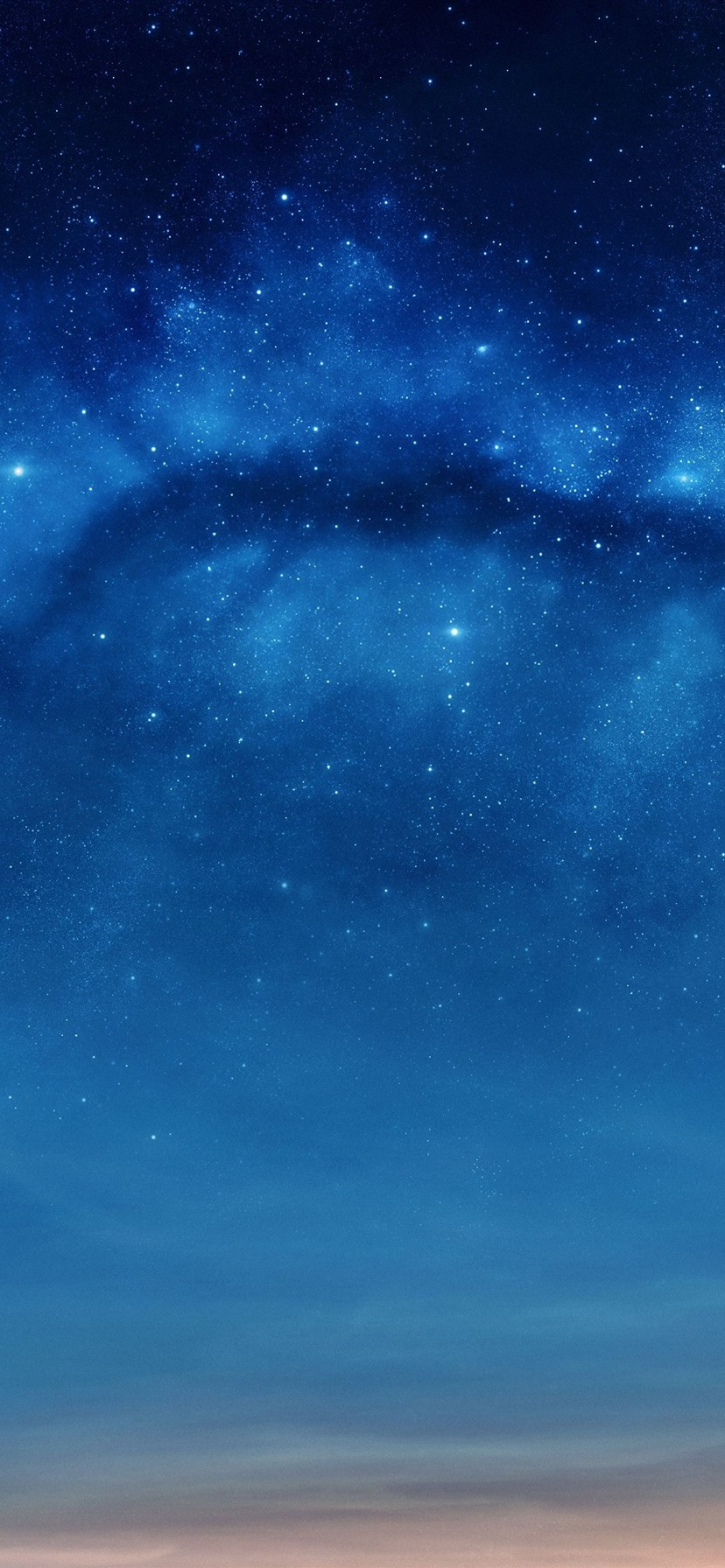 Stars Blue Sky Night 1242x2688 Iphone 11 Pro Xs Max Wallpaper Background Picture Image