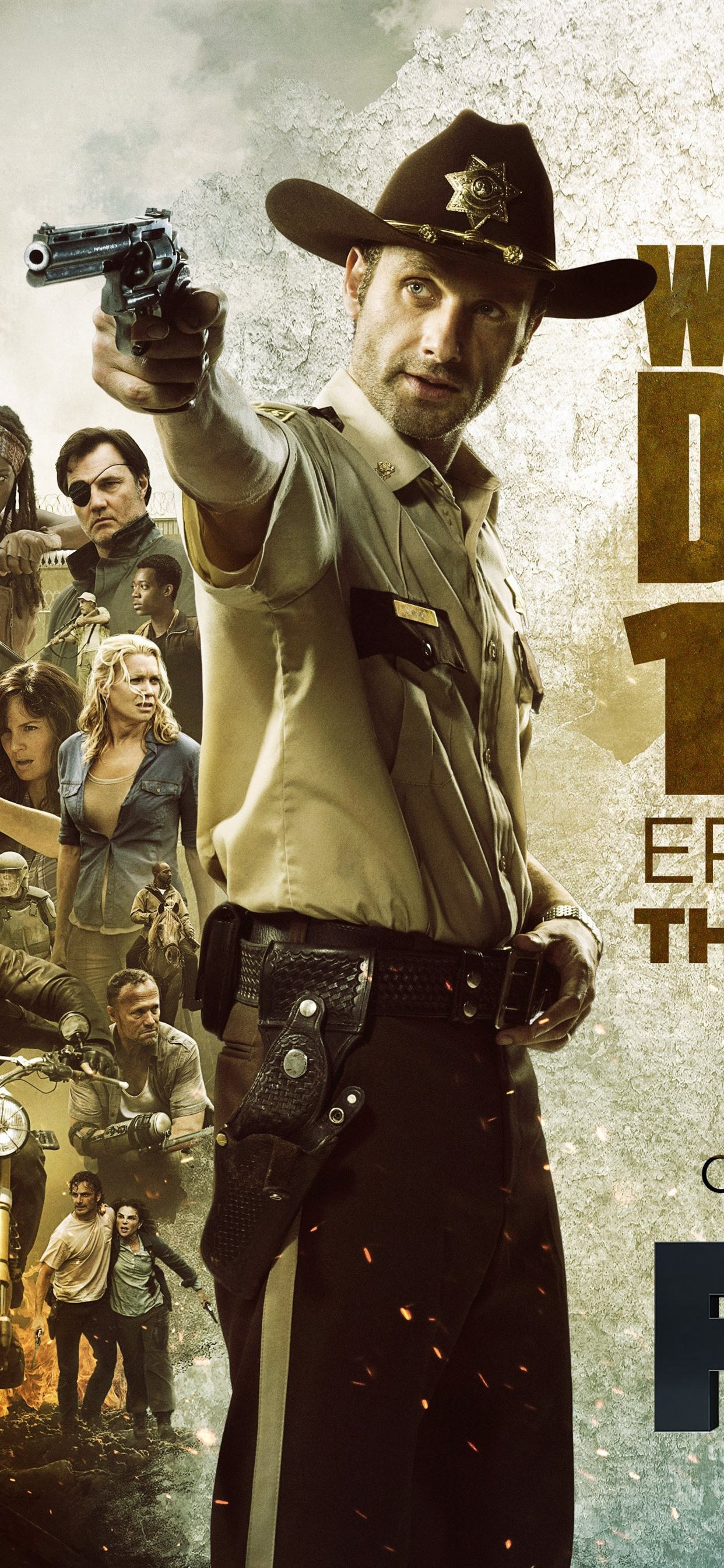 The Walking Dead Fox Tv Series 1242x2688 Iphone 11 Pro Xs Max