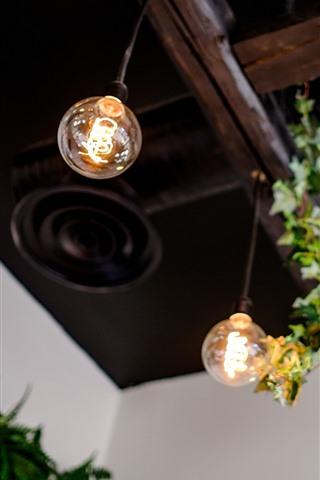 iPhone Wallpaper Lamp, light bulb