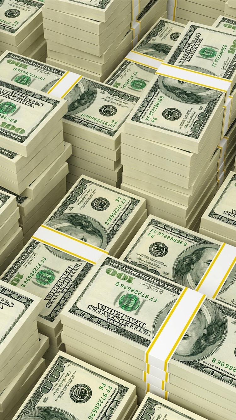 Iphone 3d Money Wallpaper