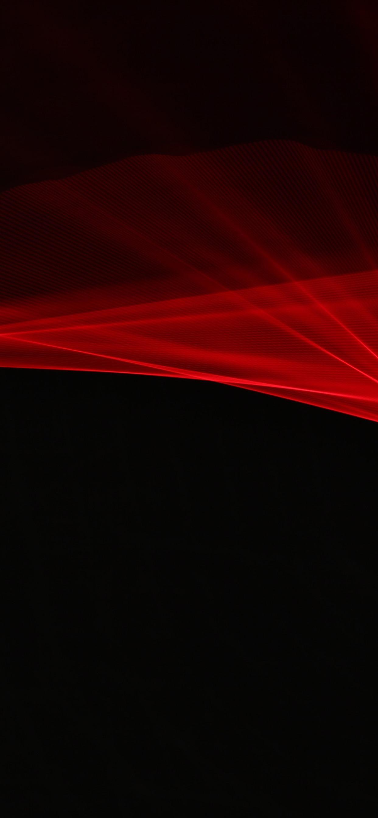 壁紙 赤い光線 抽象的な黒の背景 3840x2160 Uhd 4k 無料の