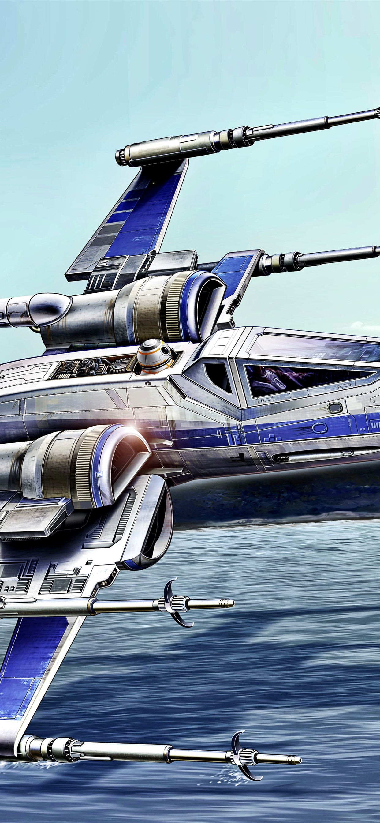 Star Wars Aircraft Art Picture 1242x2688 Iphone Xs Max