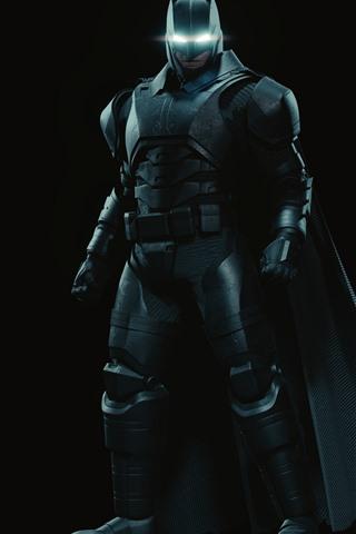 iPhone Papéis de Parede Batman, super-herói, máscara, fundo preto