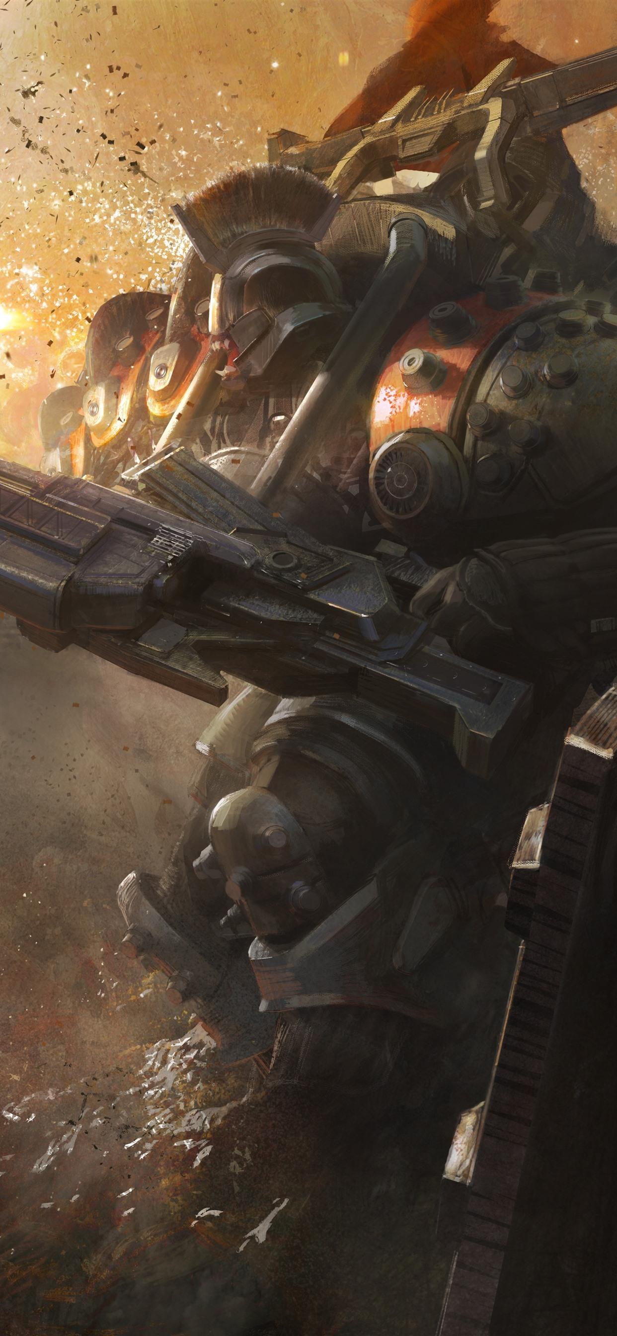 Destiny, robot, war, game art picture ...