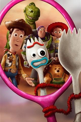 iPhone Papéis de Parede Filme da Disney, Toy Story 4