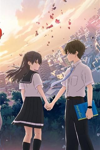 HELLO WORLD, anime movie 2019 1080x1920