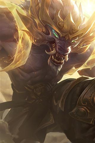iPhone Papéis de Parede League of Legends, monstro