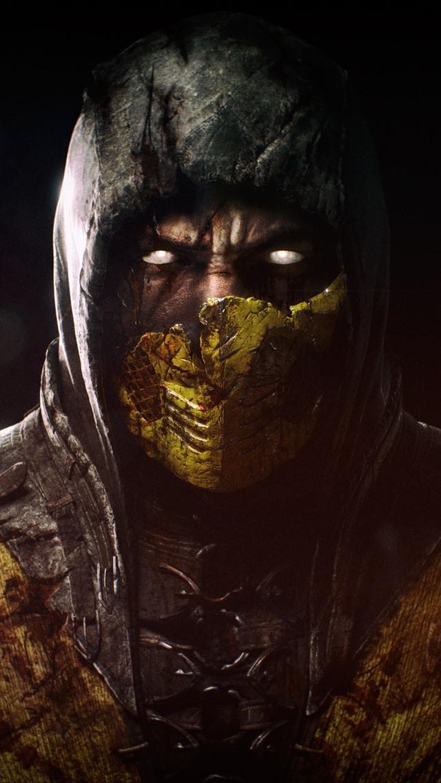 Wallpaper Mortal Kombat X Mask 1920x1200 Hd Picture Image