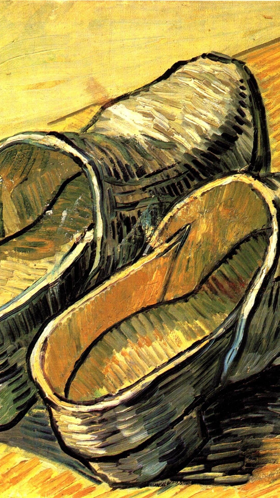 Schuhe ölgemälde Vincent Van Gogh 2560x1920 Hd