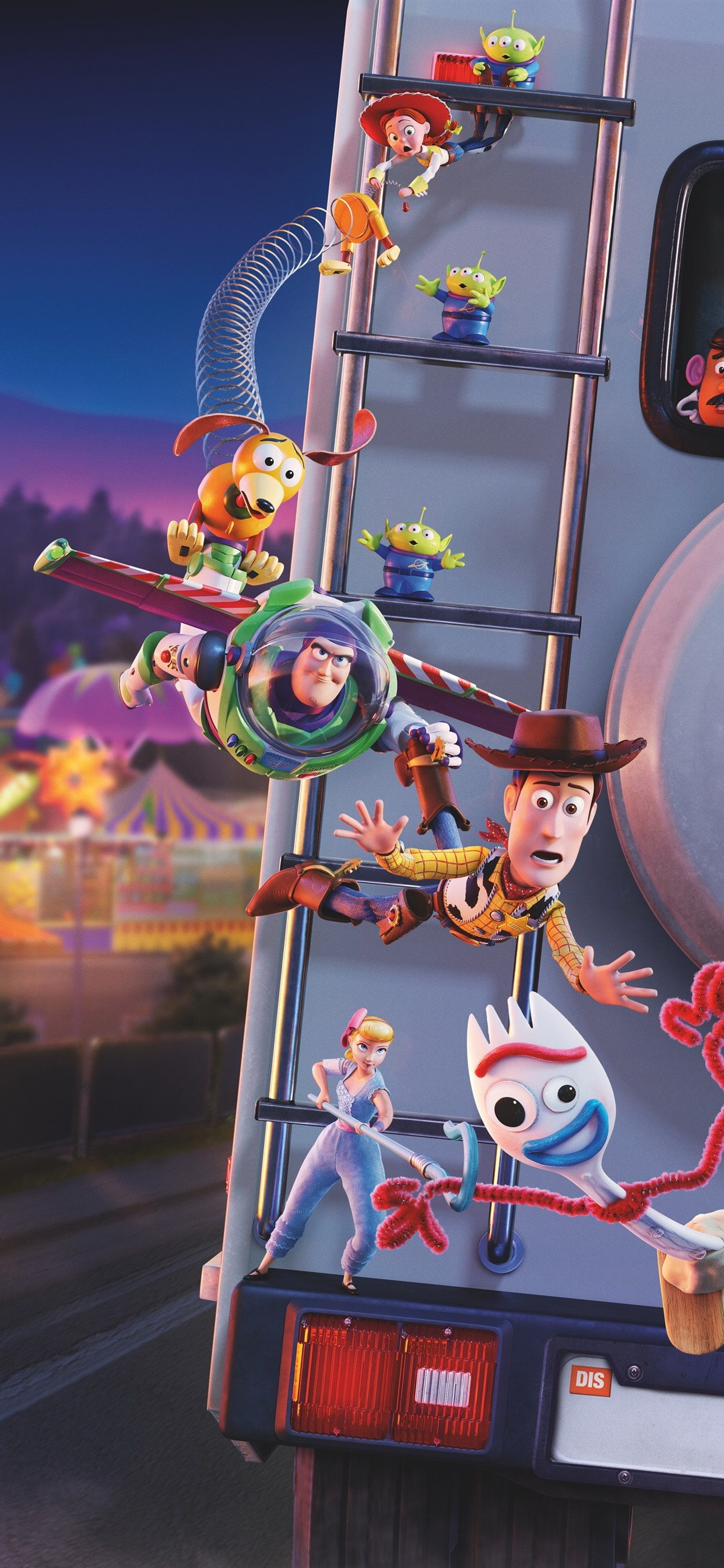 Toy Story 4 Disney Movie 2019 1242x2688 Iphone 11 Pro Xs Max